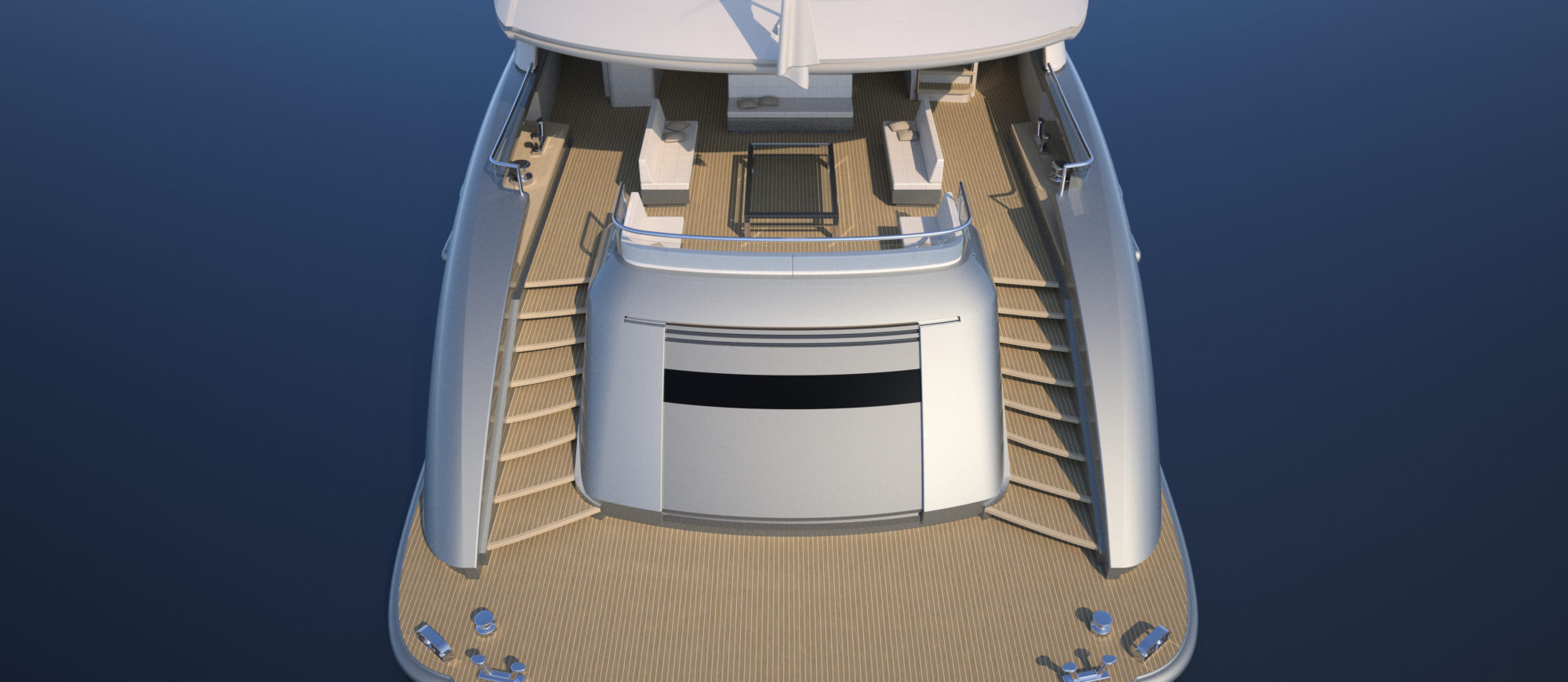 Conrad C166 Superyacht Concept Vallicelli Visualisation Main Deck 1