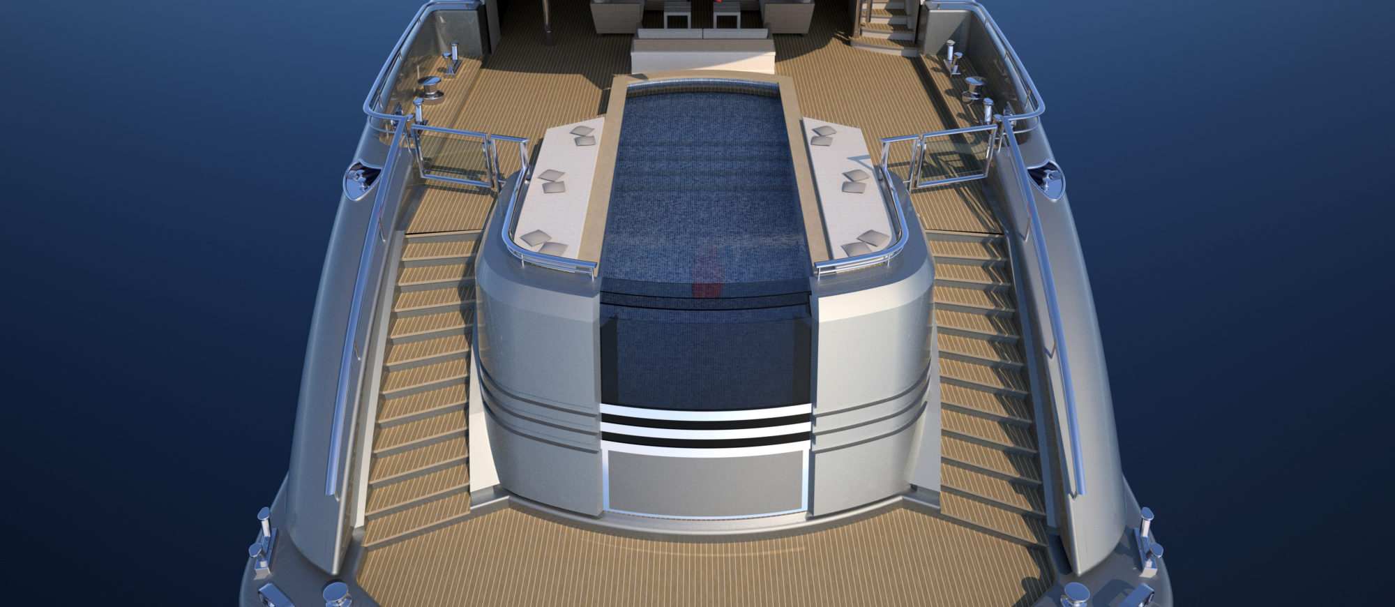 Conrad C233 Superyacht Concept Vallicelli Visualisation Main Deck 1